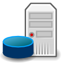 osa svg icon security database server