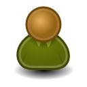 osa svg icon security user generic green